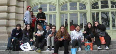 Freshman Class Visits New York