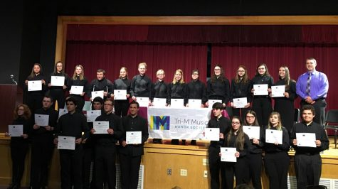 Student-Athletes awarded All-League certificates