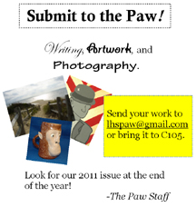 Paw sets deadline for submissions