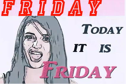 "Rebecca Black's ""Friday:"" Literally the worst song in existence"