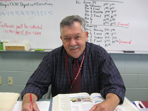 Robert Johnston ends his teaching career at LHS