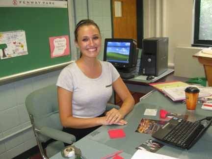 Ms. Brehaut new U.S. History and Psychology/Sociology teacher.