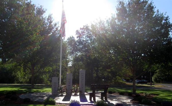 Memorial honors fallen Marine