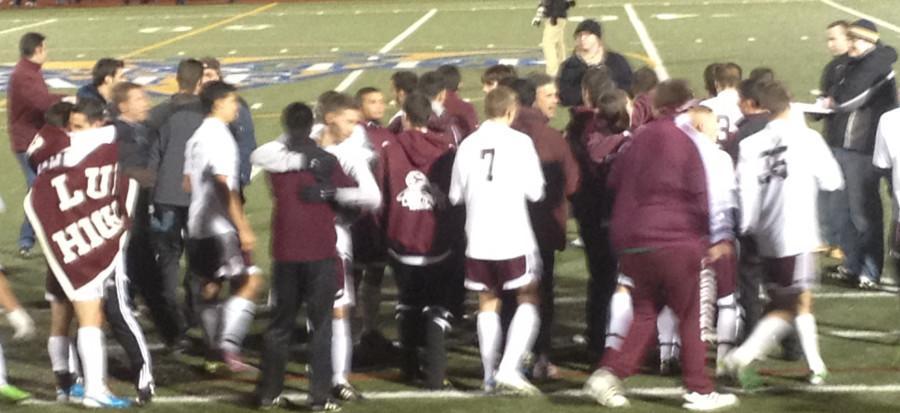 Ludlow Varsity boys soccer - champions again!