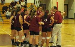 Undefeated volleyball season ends with disappointing post-season