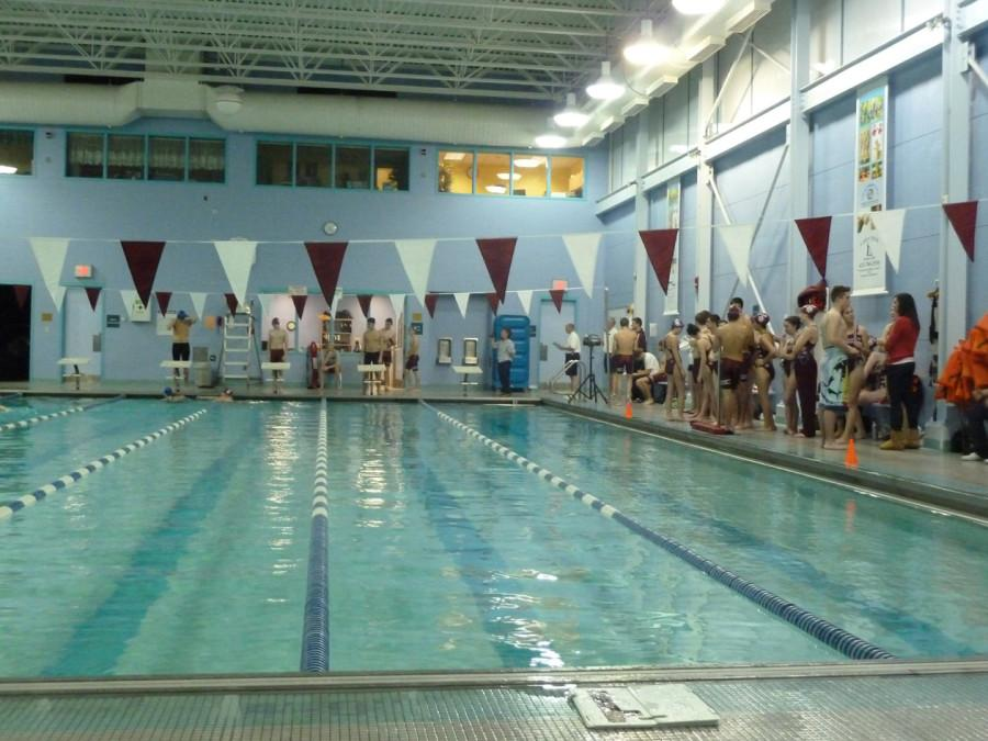Swim team dives into season