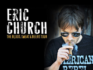 Eric Church brings some country twang to Massachusetts
