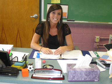 LHS acquires new math teacher