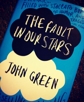The Fault In Our Stars: a rivioting teen novel