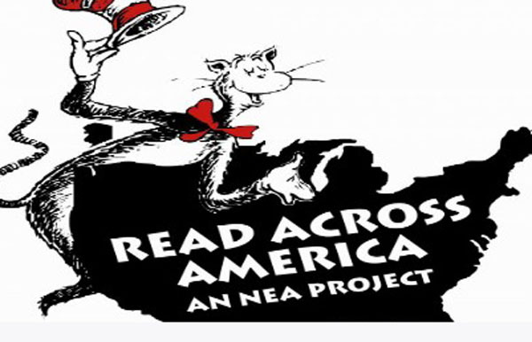 LHS Student Council members take part in Read Across America