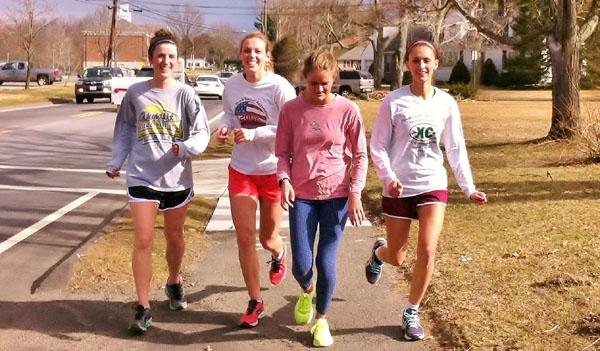 LHS runners take to the streets