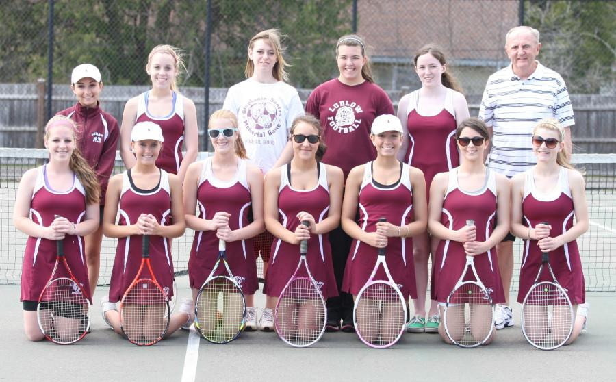 Girls tennis players heading to Western Mass