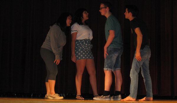 Drama Club prepares for one-acts