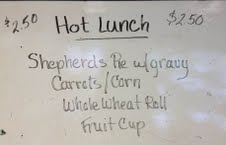 Students annoyed at rise on lunch prices
