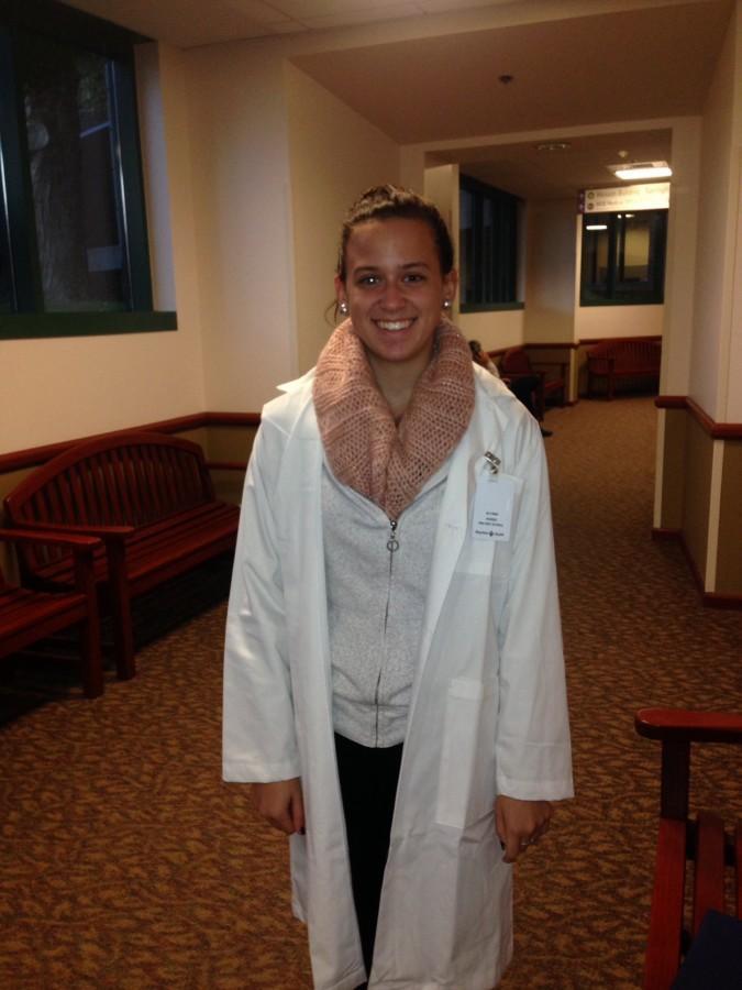 LHS senior takes on Baystate Hospital's Mini Medical School