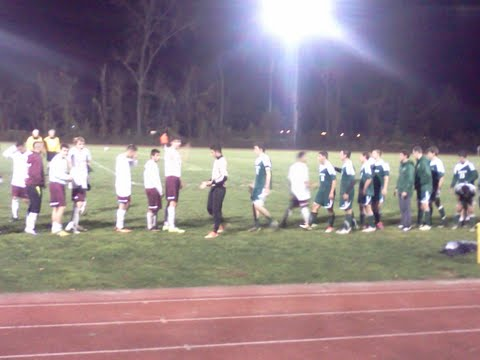 Varsity boys soccer comes out with a win on senior night