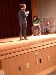 Students audition for upcoming play