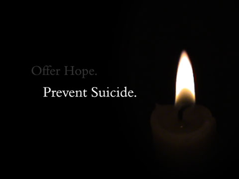 Suicide prevention week says nothing?