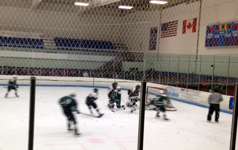 Longmeadow Lancers defeat Lions in boys hockey playoff game