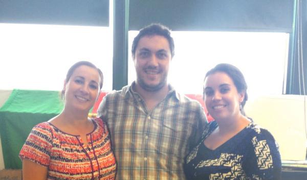 Portuguese Club advisors: Maria Fernandes, Aderito Pires, Joanne Santos-Pontes