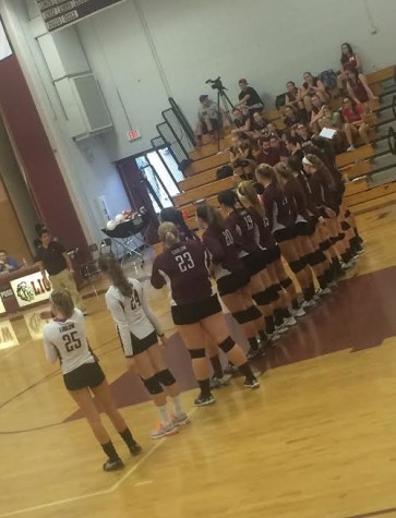 Volleyball gets a new start to the 2015 season