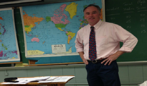 O'Connor shares his story through history