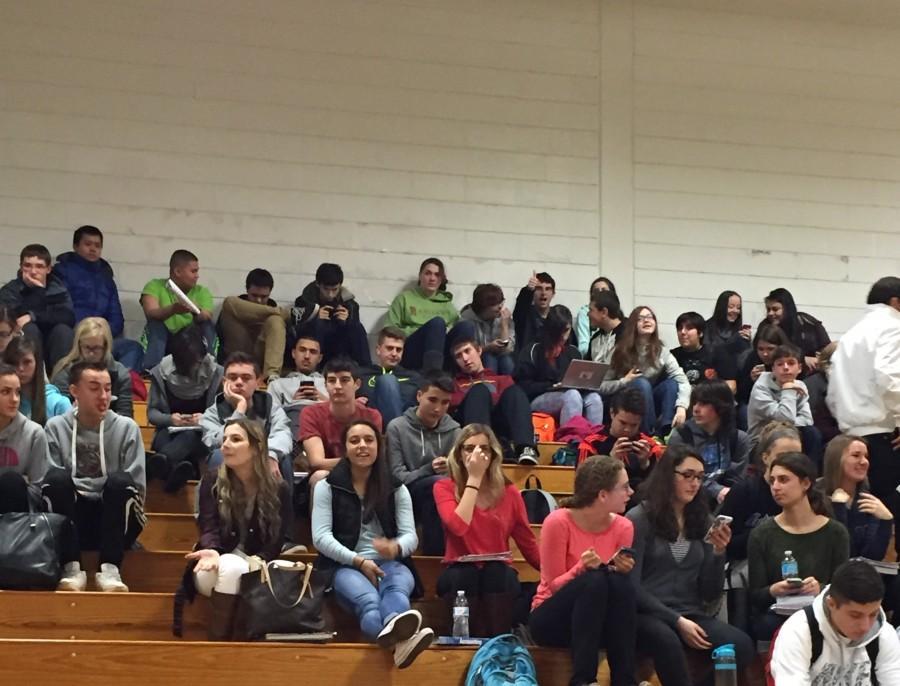 LHS Evacuated