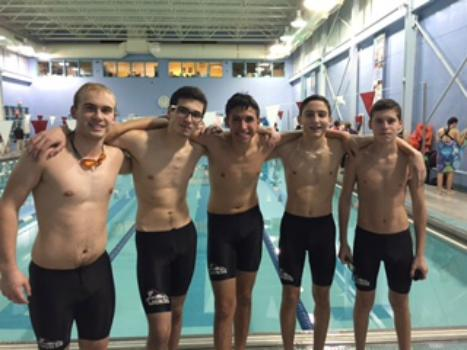 Boys swim team wins first meet in two seasons