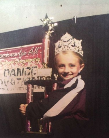 Dowling as a young dancer.