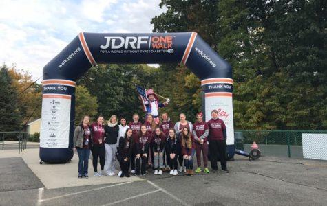 NHS Participates in JDRF Walk