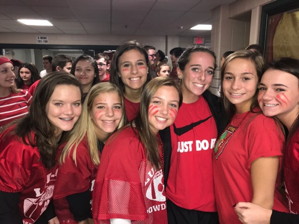 A+Red+Sea+of+Sophomores+Take+The+Win