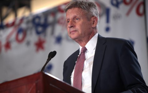 Gary Johnson, 2016 candidate for president for the Libertarian Party