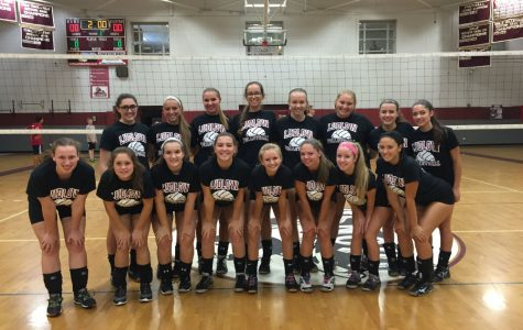 Volleyball team crowned league champs