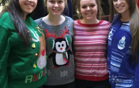 LHS Students Show Off Their Ugly Sweaters