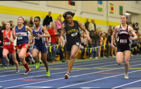 First LHS indoor track meet