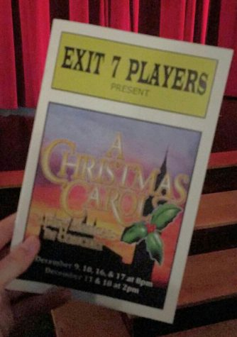 "Exit 7 Players present ""A Christmas Carol"""