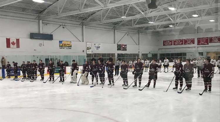 Hockey team honors teammate's father