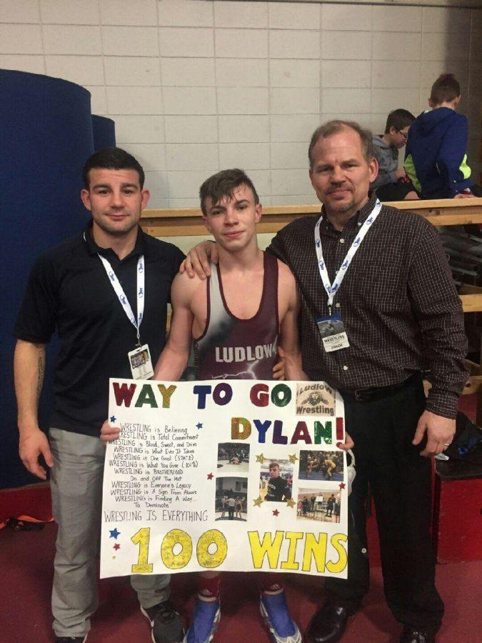 100 Career Victories: Wrestler Dylan Beddow