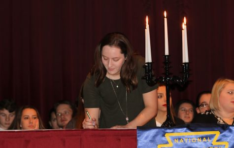 LHS Welcomes New NHS Members