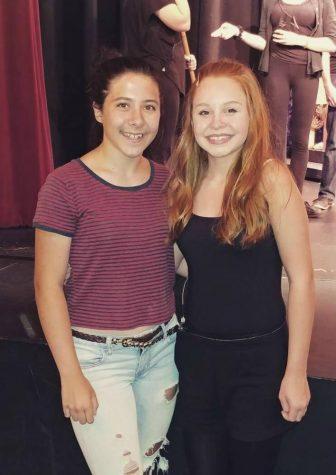 The Class of 2021 elected freshman Sara Ketchale (left) president; freshman Alora Bertini (right) will serve as vice president,