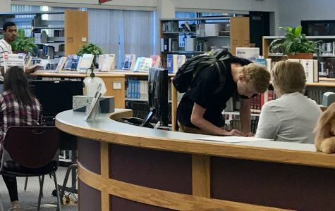 Teachers not allowed to give passes to library