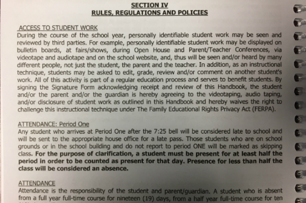 Dismissal policies to be strictly enforced