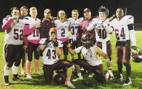 Varsity Football Closes Season with Two Wins