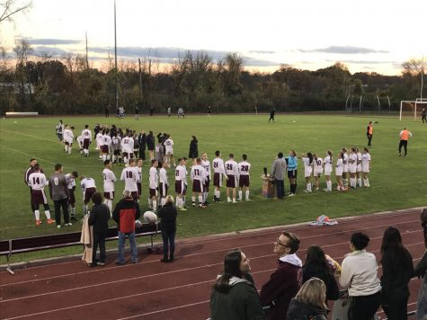 Soccer Finishes Strong on Senior Night