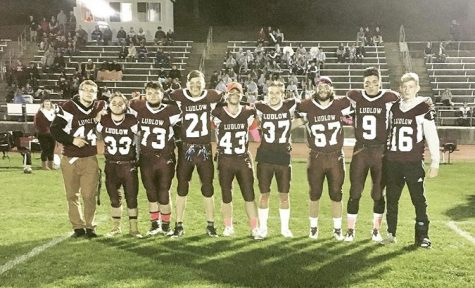 Varsity Football Celebrates Senior Night