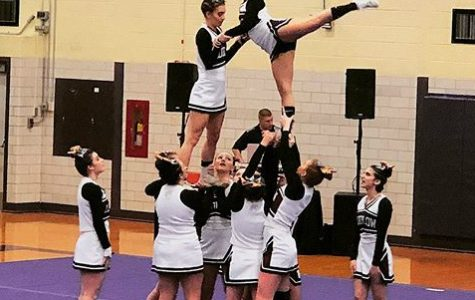 Cheerleaders start competition season