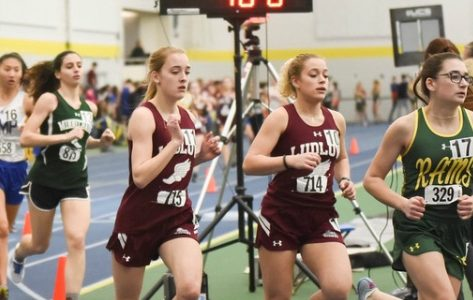 Indoor track teams see success