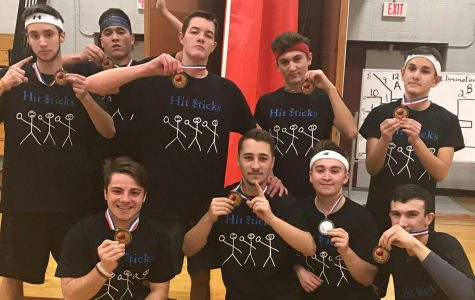 The 2017 Dodgeball Marathon winning team: Hit $ticks