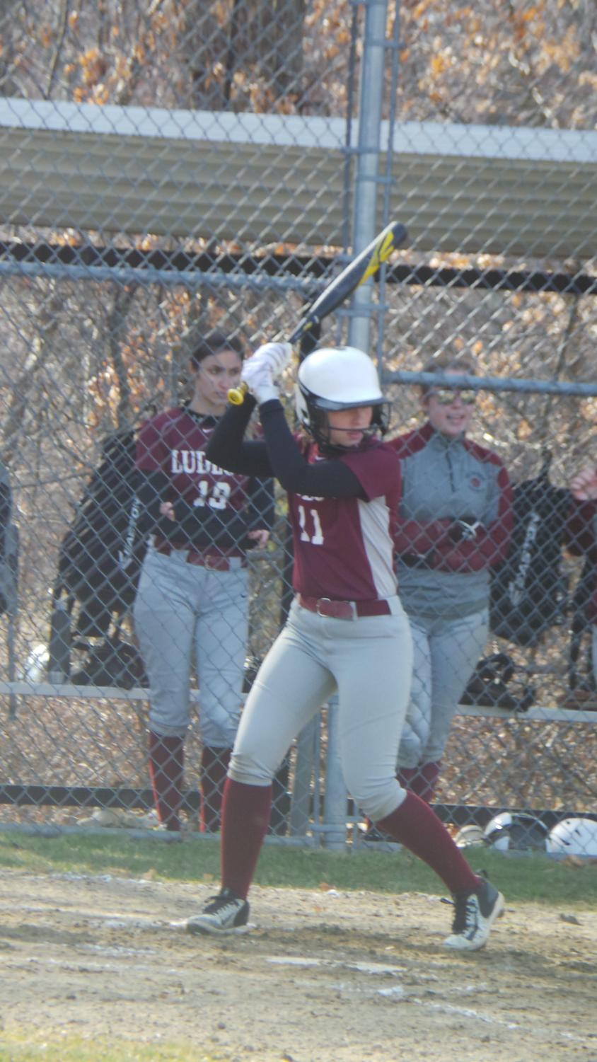 Senior softball third baseman Lauren Dutton plans to try for a roster spot at Nichols College in Dudley, Mass.