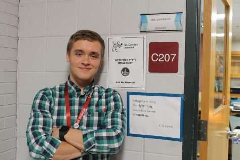 """It feels right"": Alum returns to Ludlow High as science teacher"